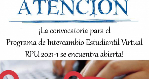 CONVOCATORIA Programa de Intercambio Estudiantil